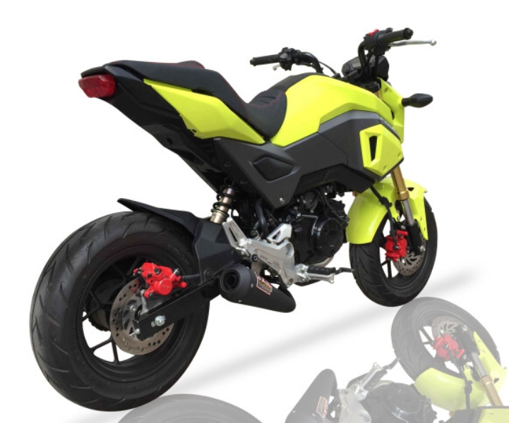 Honda MSX-125 GROM 2016- Exhaust - IXIL OVC-GP Full System Exhaust ... I Snail Current Sensor