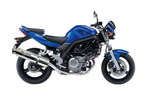 suzuki sv 650 s 1999 2000 2001 2002 2003 musarri s o exhaust al ebay. Black Bedroom Furniture Sets. Home Design Ideas