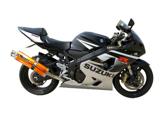 suzuki gsxr 600 gsx r 2001 2002 2003 2004 2005 musarri bolt on exhaust gold. Black Bedroom Furniture Sets. Home Design Ideas